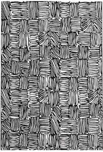 Tiago 46308/AF900 White Geometric Rug by Mastercraft