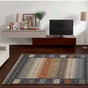 Fasa-24722-585 Grey Multi Rug by Theko