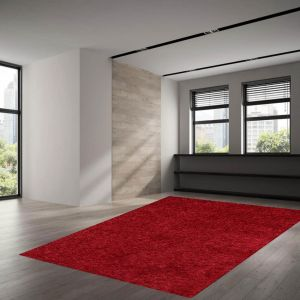 Rissani-UNI-200 Red Rug by Theko