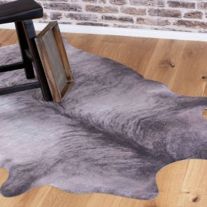Toledo TOL 193 Grey Shaggy Rug by Obsession