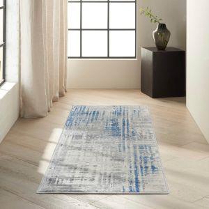 Torrent CK982 Ivory Grey Blue Runner by Calvin Klein