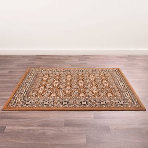 Traditional Poly Esta Gold Rug by Rug Style