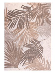 Tropical Cut Pile Natural Outdoor Rug by Ultimate Rug
