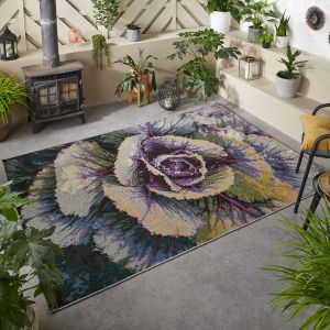 Tropicana 93X Floral Outdoor Rug by Oriental Weavers