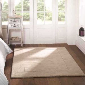 Tuscany Sienna Natural Plain Rug By Flair Rugs 1