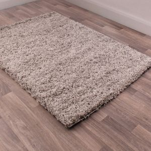 Indulgence Shaggy Silver Rug By Ultimate Rug