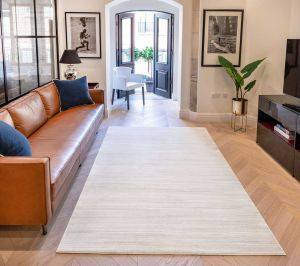 UNI-901 Oyster Plain Rug by Concept Looms