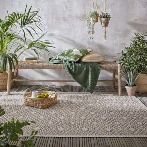 Varano Almada Natural Rug By Flair Rugs