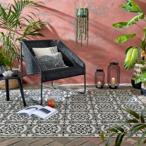 Varano Casablanca Monocrome Rug By Flair Rugs