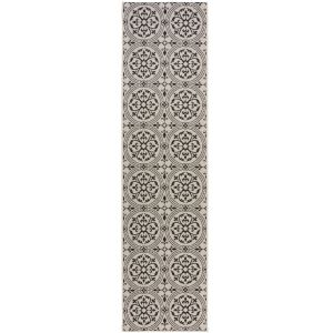Varano Casablanca Monocrome Runner By Flair Rugs