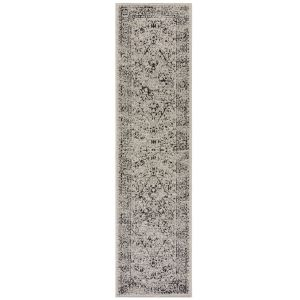Varano Fuera Grey Runner By Flair Rugs