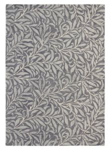 Willow Bough 28305 Granite Hand Tufted wool Rug by Morris & CO.