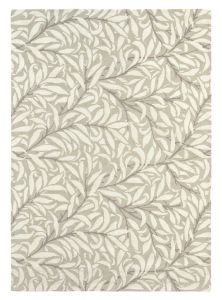 Willow Bough 28309 Ivory Hand Tufted wool Rug by Morris & CO.