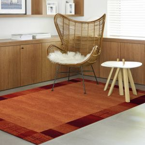 Woodstock 032 0351 9280 Bordered Rug by Mastercraft