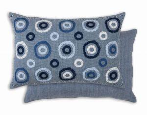 Zafora Ocean WYC00093X Cushion by William Yeoward