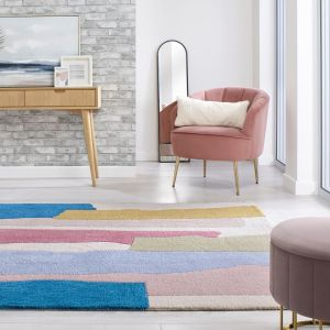 Zest Escala Multi Abstract Rug by Flair Rugs