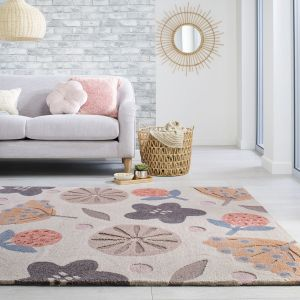 Zest Scandi Clay Rug by Flair Rugs