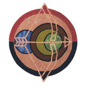 Zodiac 161905 Sagittarius Wool Rug by Ted Baker