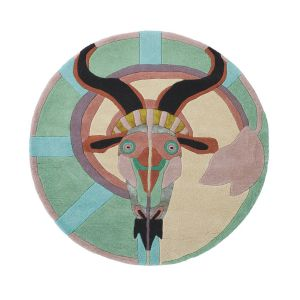 Zodiac 162005 Capricorn Wool Rug by Ted Baker