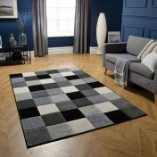 Portland 1923 H Chequered Rug by Oriental Weavers