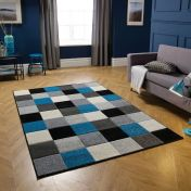 Portland 1923 Q Chequered Rug by Oriental Weavers