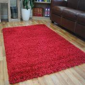 Red 0905 Glasgow OPUS Luxury Shaggy Rug