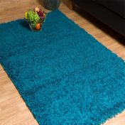 Blue 0910 Glasgow OPUS Luxury Shaggy Rug