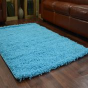 Teal 0911 Glasgow OPUS Luxury Shaggy Rug