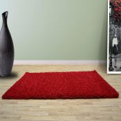 Red 0925 Glasgow OPUS Luxury Shaggy Rug
