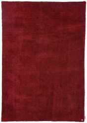 200 Powder Uni Red Rug by Tom Tailor