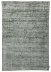 300 Shine Uni Green Rug by Tom Tailor