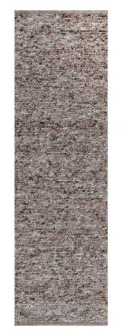 505 Berberina Super Brown Multi Natural Wool Runner by Theko