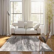 Mad Men Griff 8420 Jersey Stone Designer Luxury Rug by Louis De Poortere