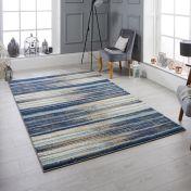 Sansa 82 L Blue Rug by Oriental Weavers