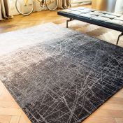 8881 Mad Men Fahrenheit Wind Chill Grey Rug by Louis De Poortere