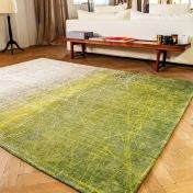 8882 Mad Men Fahrenheit Central Park Green Rug by Louis De Poortere
