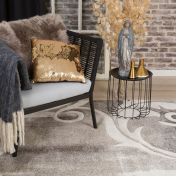 Acapulco ACA 681 Taupe Abstract Rug