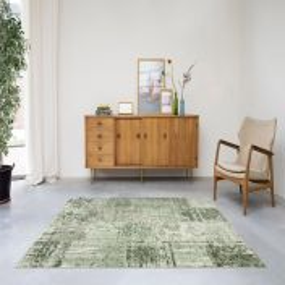 Amalfi 094 - 0010 4001 - 96 Green Traditional Rug by Mastercraft