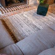 Antiquarian Kilim 9114 Medina White Flatweave Rug by Louis De Poortere