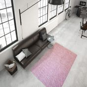 Aperitif 410 Pink Modern Rug by Unique Rugs