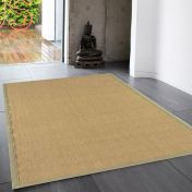 Sisal Linen/Sage Natural Decorative Rug by Asiatic