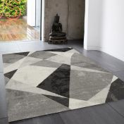 Nova NV02 Patio Grey Rug by Asiatic