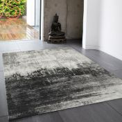 Nova NV03 Distress Grey Rug by Asiatic