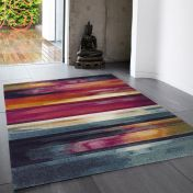 Nova NV05 Stripe Multi Rug by Asiatic