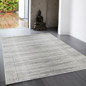 Nova NV07 Weave Grey Rug by Asiatic