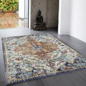 Nova NV12 Medallion Multi Rug by Asiatic