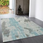 Nova NV15 Painterly Duckegg Rug by Asiatic