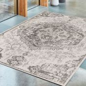 Nova NV26 Medallion Ivory Rug by Asiatic