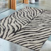 Nova NV27 Zebra Grey Abstract Rug by Asiatic