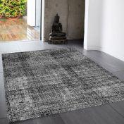 Cosmos 06 Daub Grey Rug by Asiatic